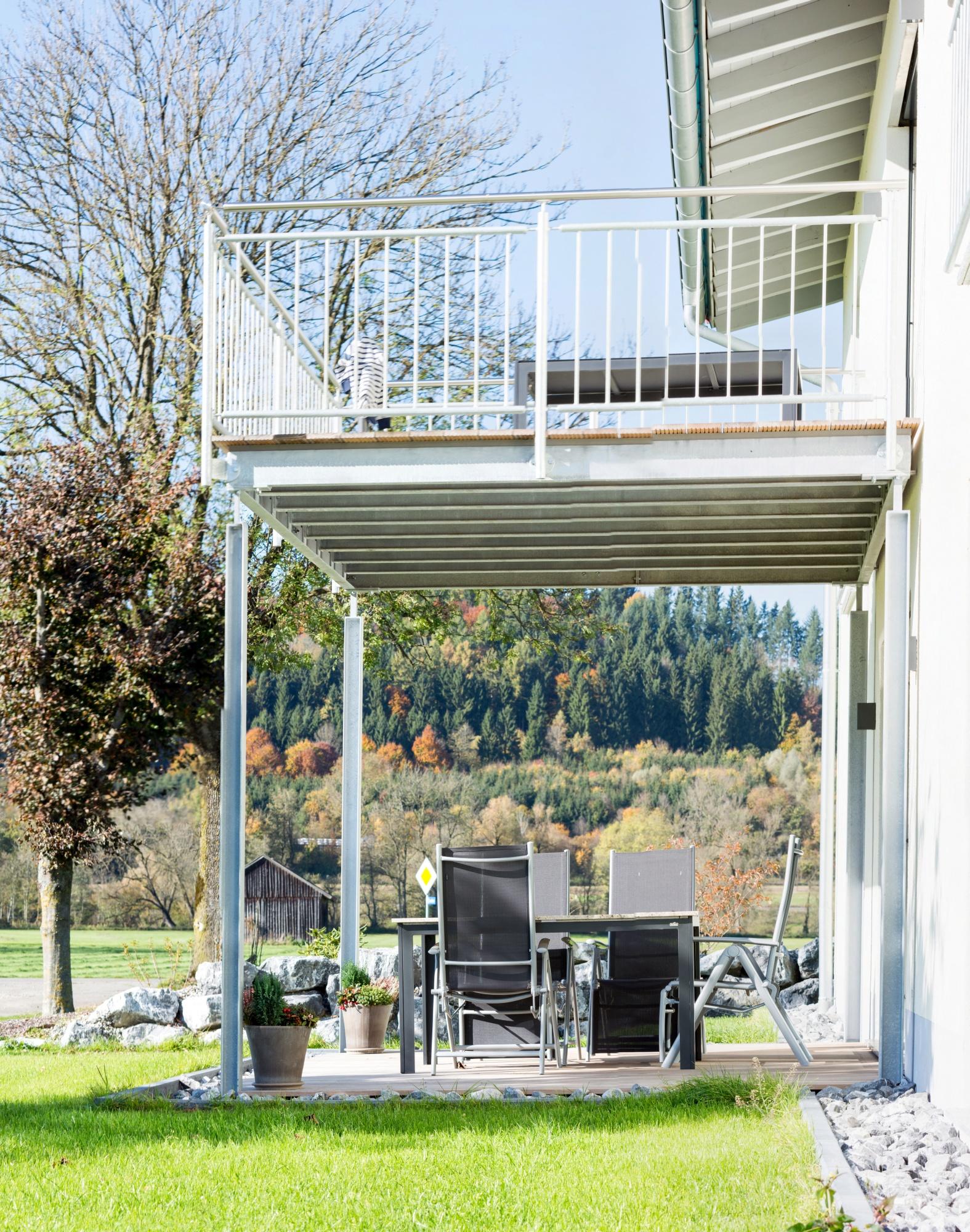 Große Terrasse / Balkon